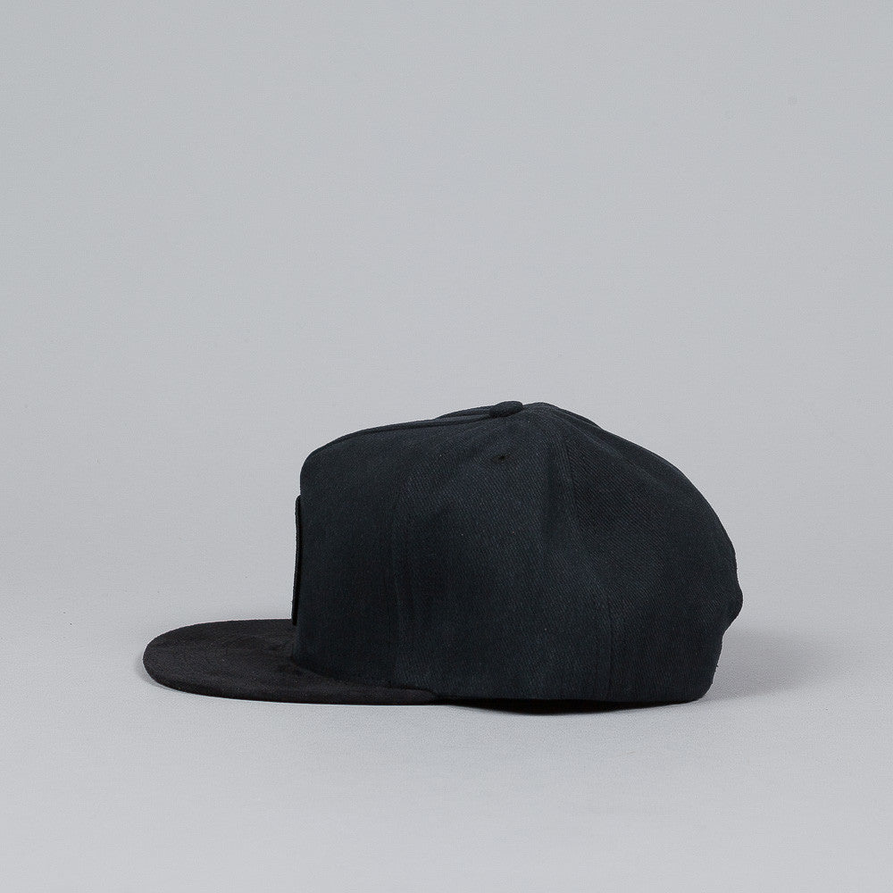 The Quiet Life Day Logo Snapback Cap Black