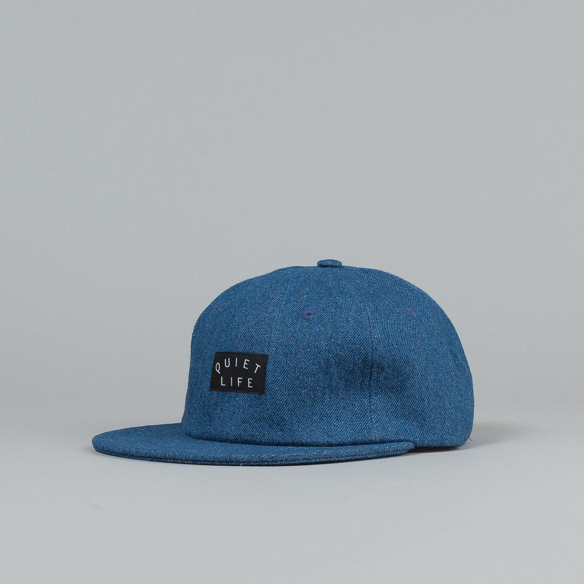 The Quiet Life Denim Polo Cap