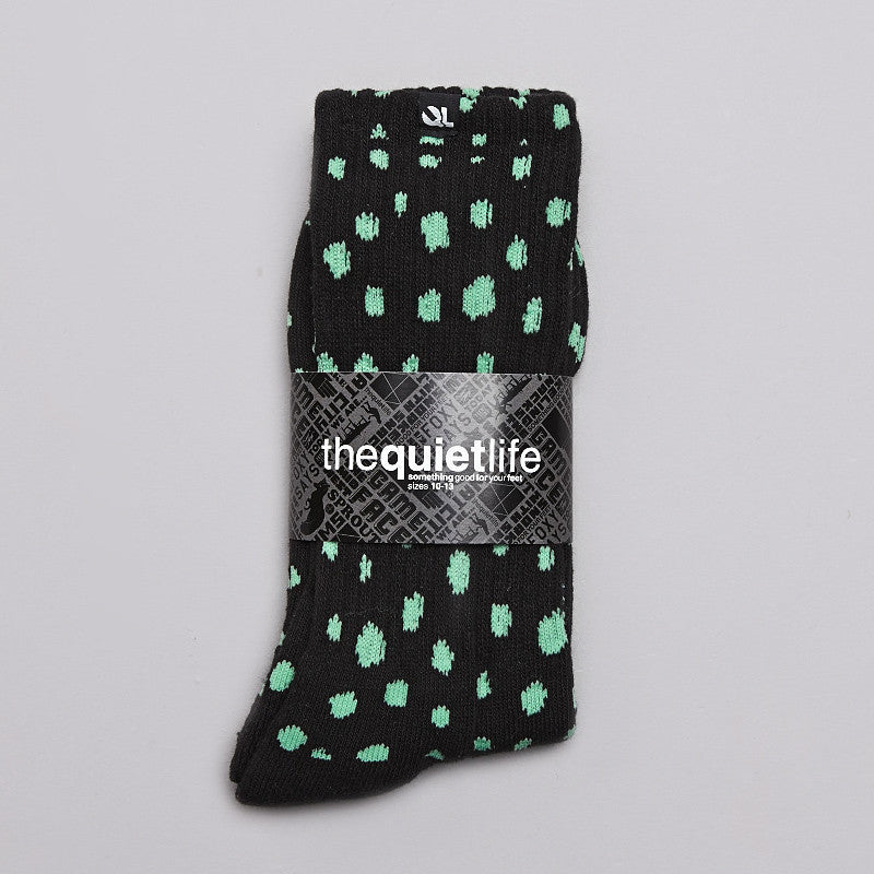 The Quiet life Dotted Socks Black
