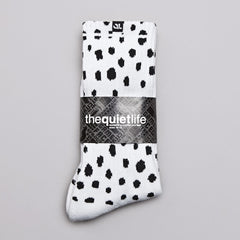 The Quiet life Dotted Socks White