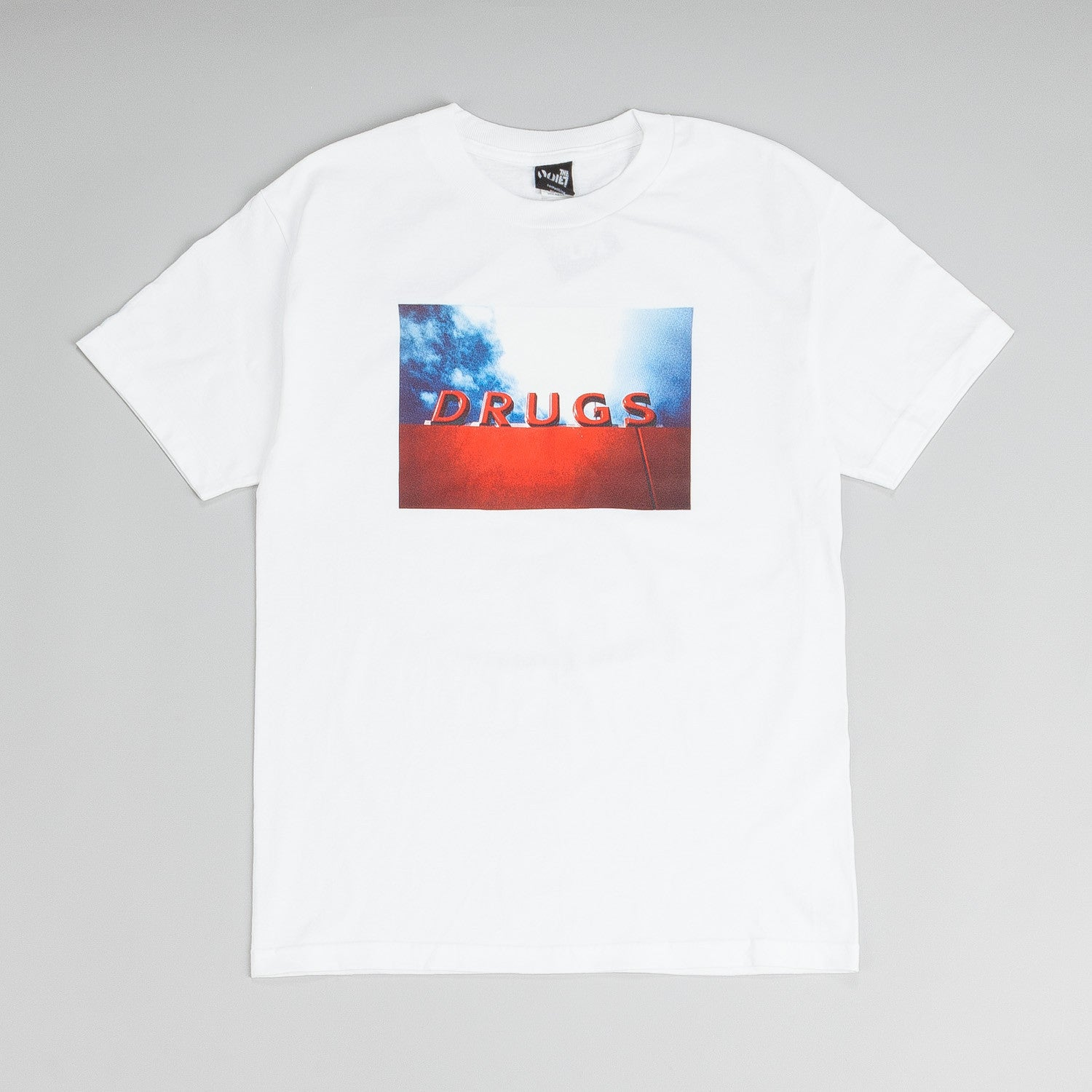 The Quiet Life Drugs T Shirt White