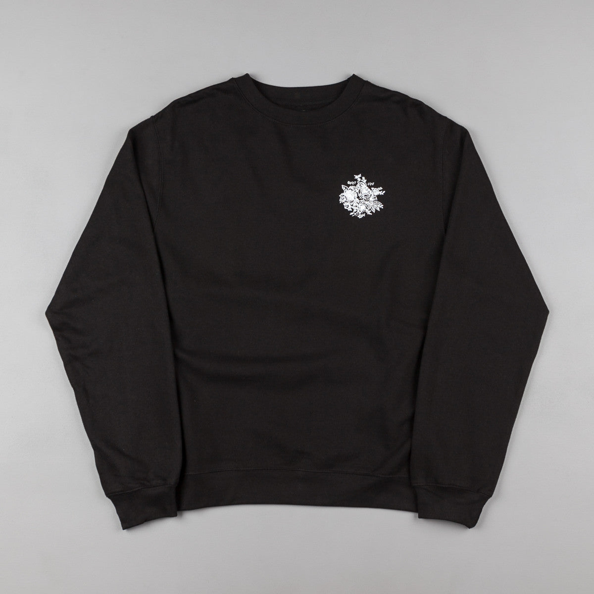 The Quiet Life Duggan Crewneck Sweatshirt - Black