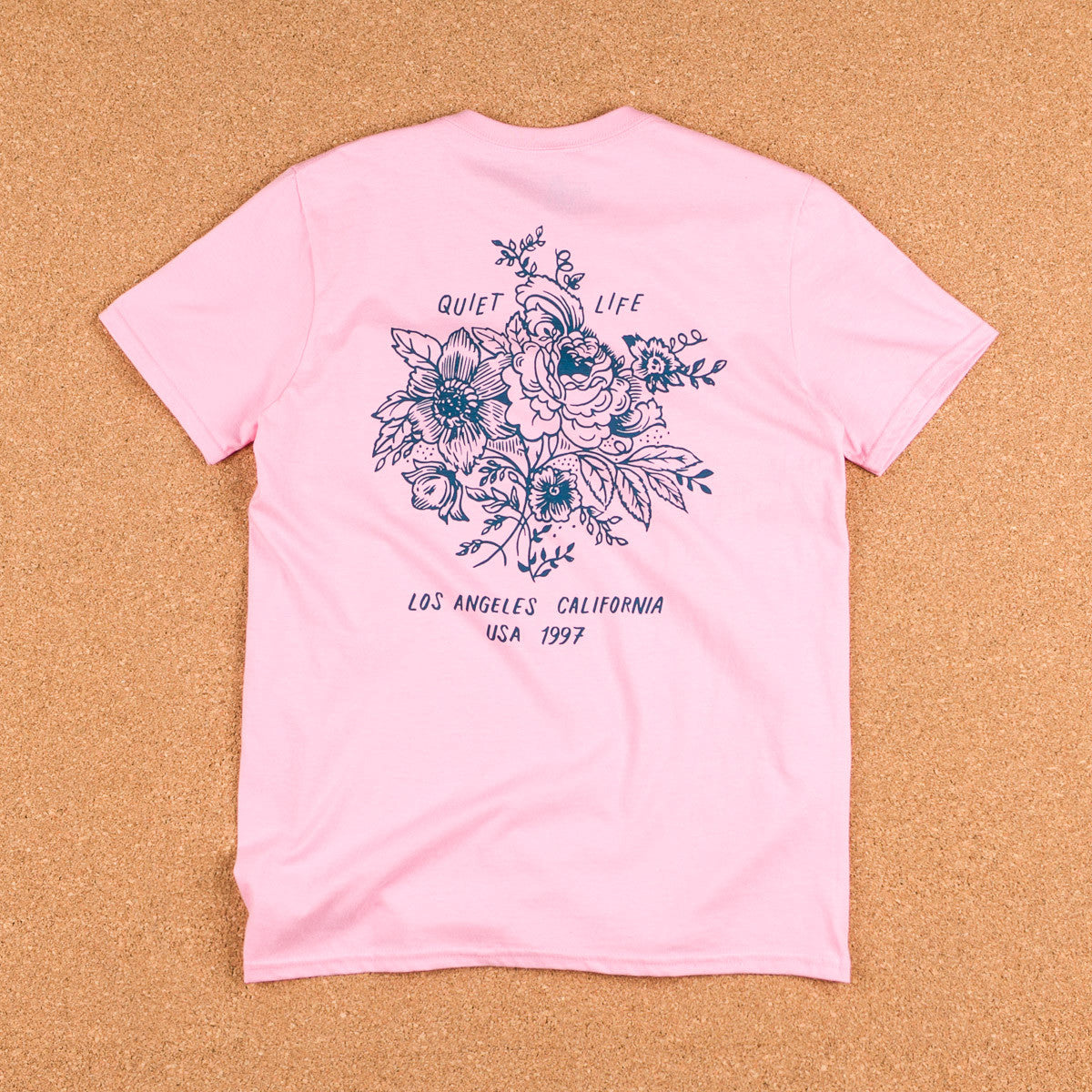 The Quiet Life Duggan Premium T-Shirt - Pink