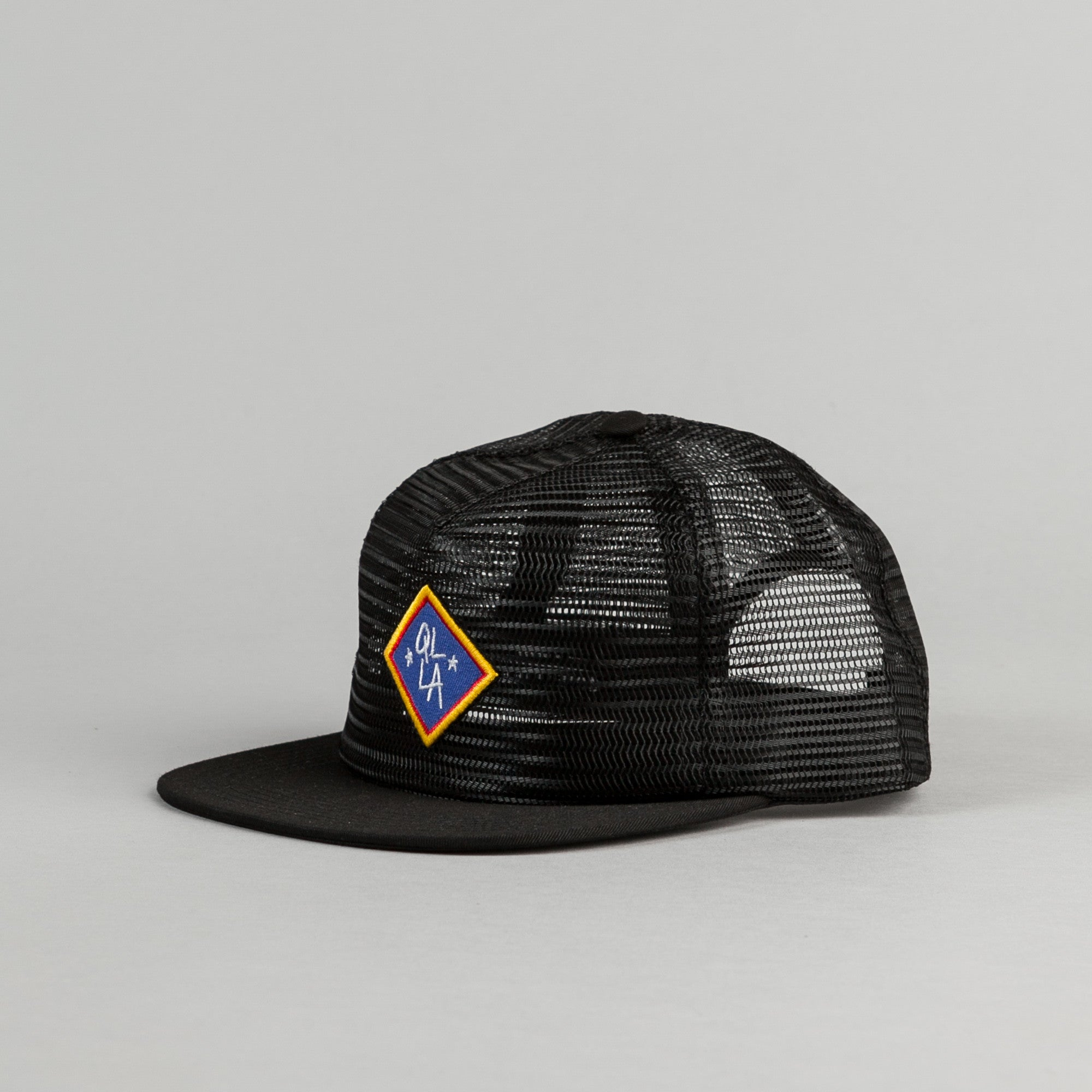 The Quiet Life Emblem Snapback Cap - Black