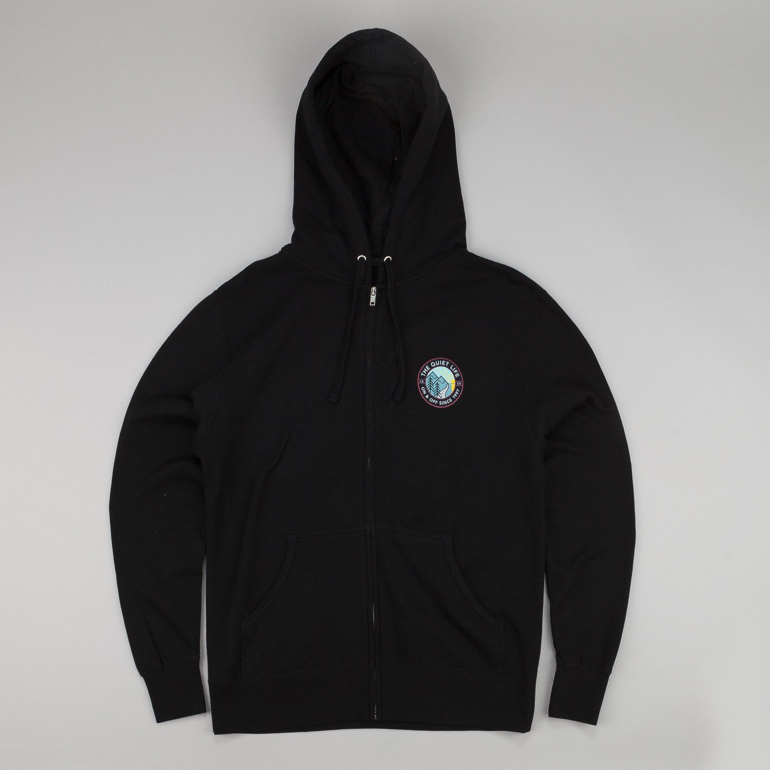 The Quiet Life Explorer Zip Hooded Sweatshirt