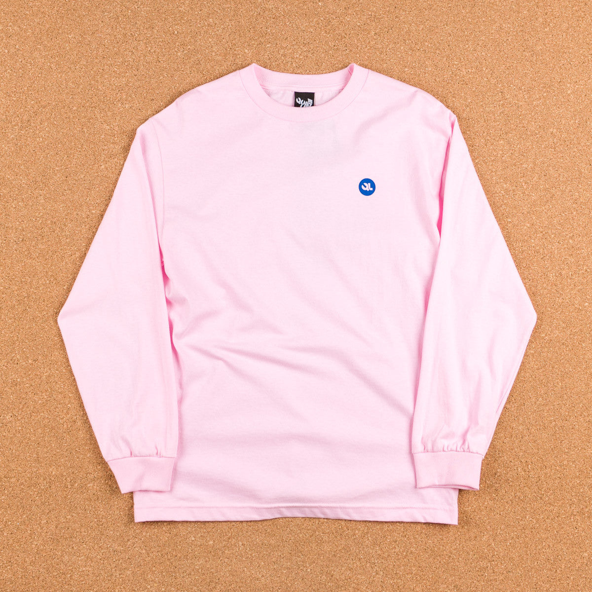 The Quiet Life Face Long Sleeve T-Shirt - Pink