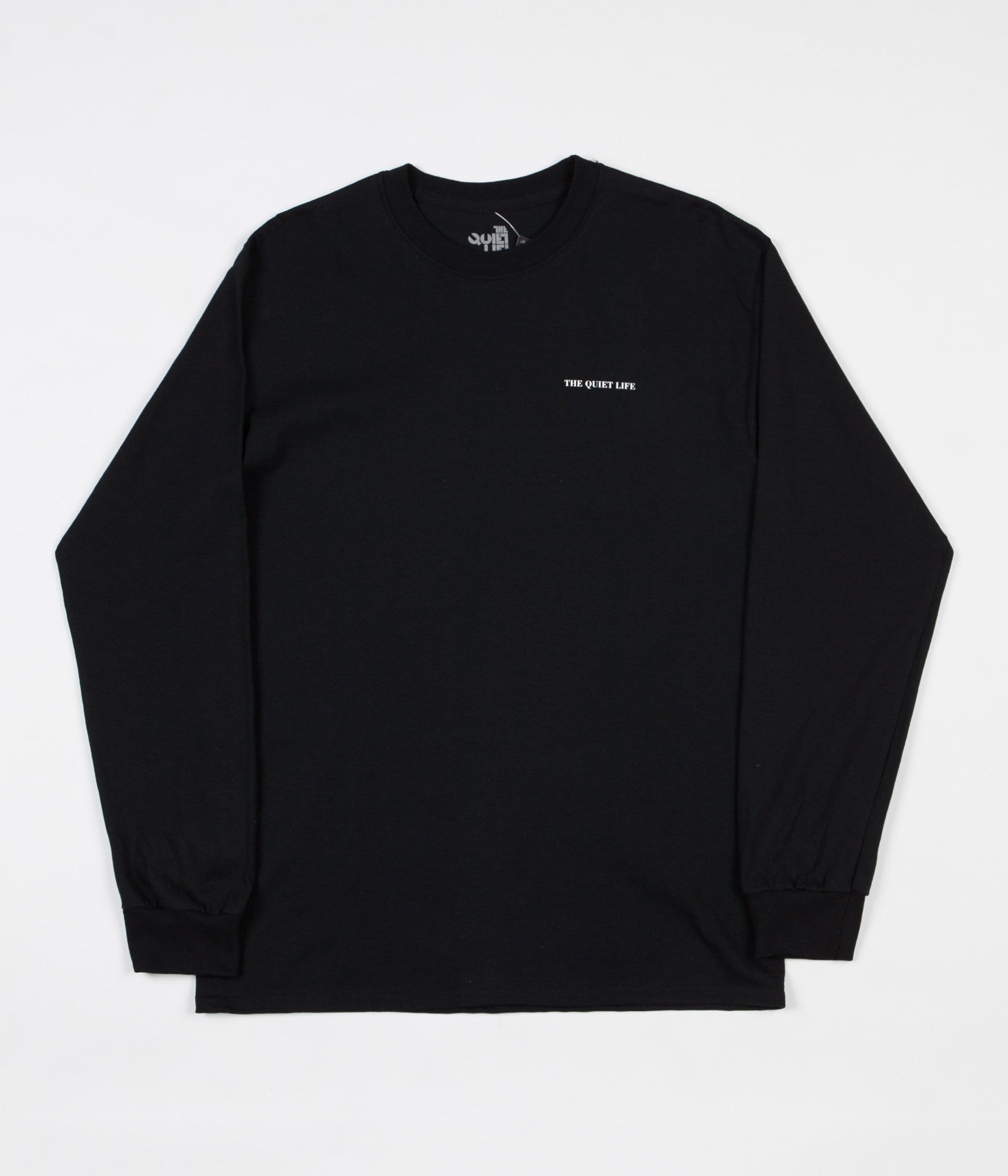 The Quiet Life Face Off Long Sleeve T-Shirt - Black
