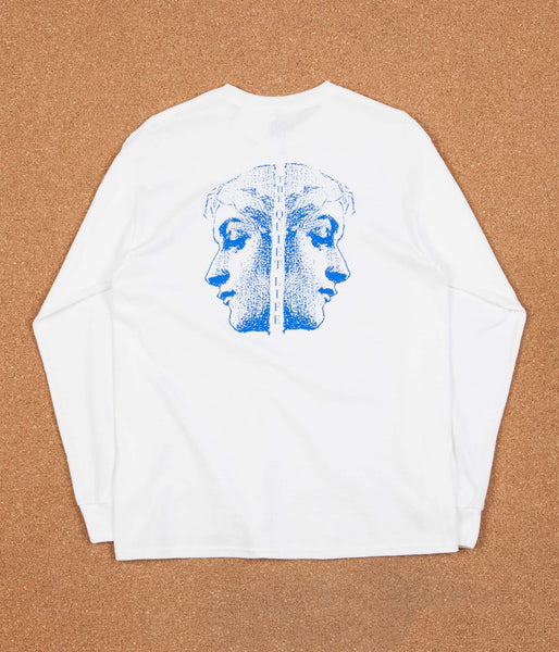 The Quiet Life Face Off Long Sleeve T-Shirt - White