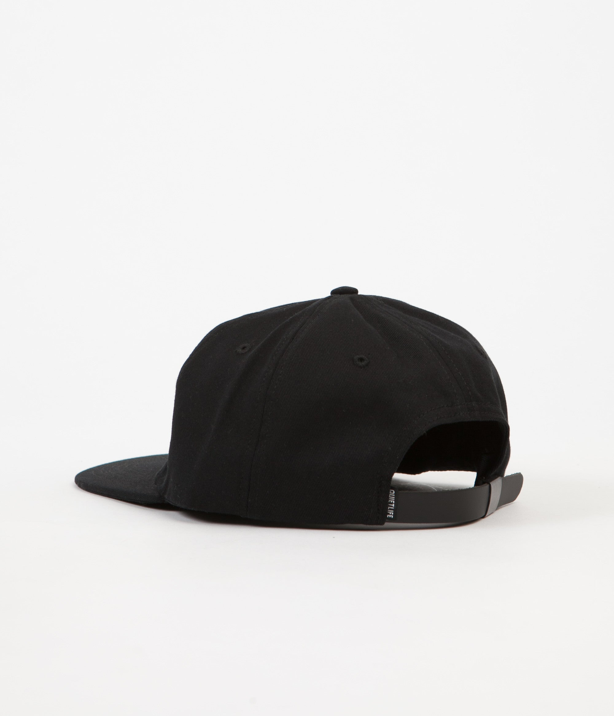 The Quiet Life Field Polo Cap - Black