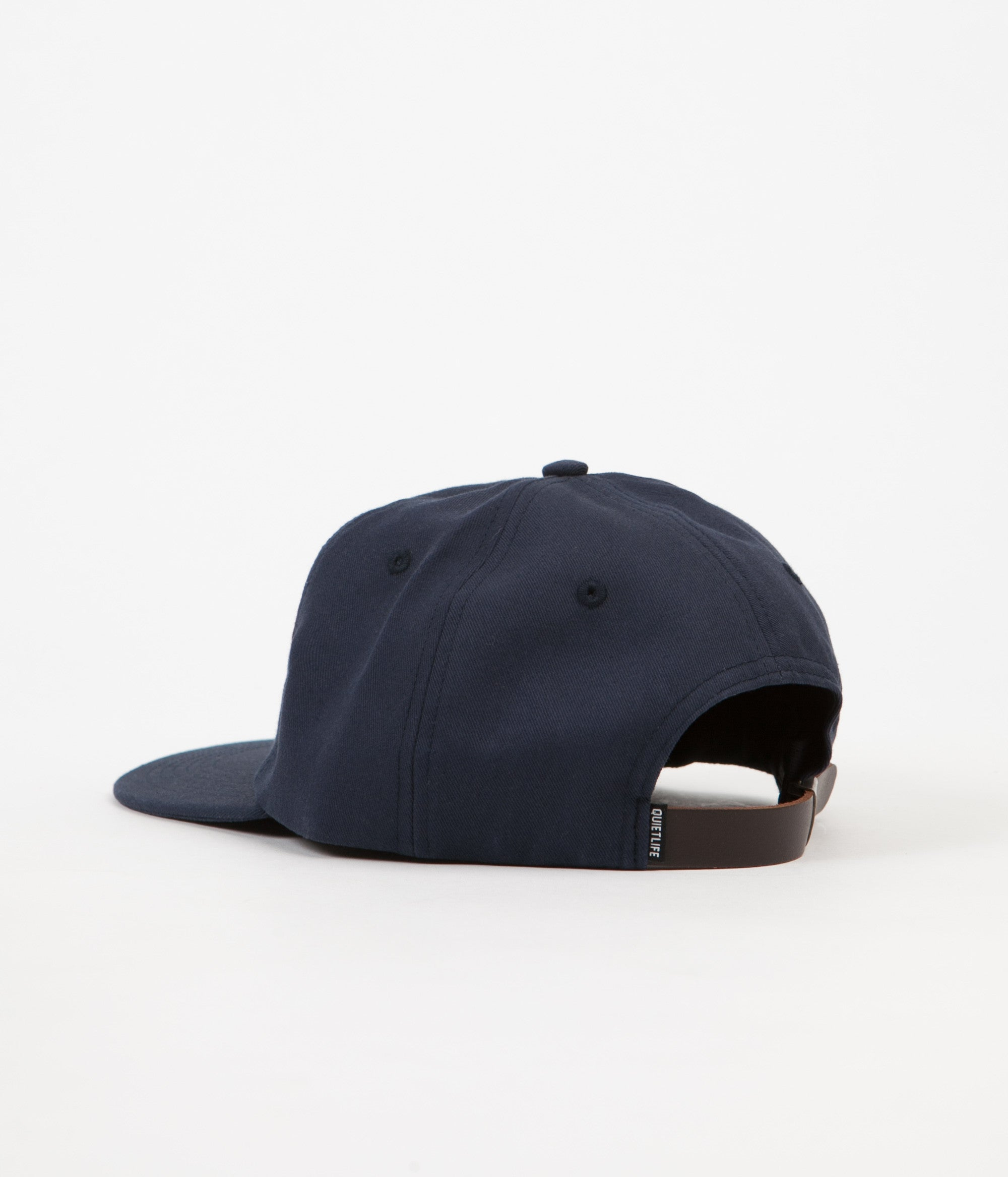 The Quiet Life Field Polo Cap - Navy