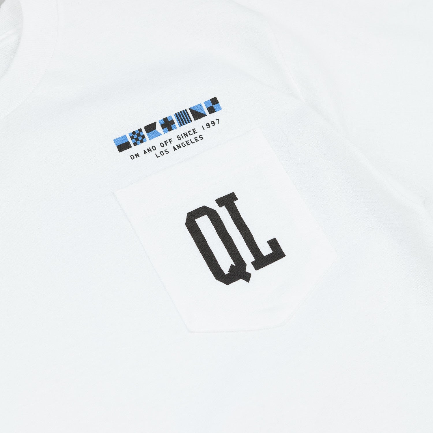 The Quiet Life Flagship Pocket T-Shirt - White