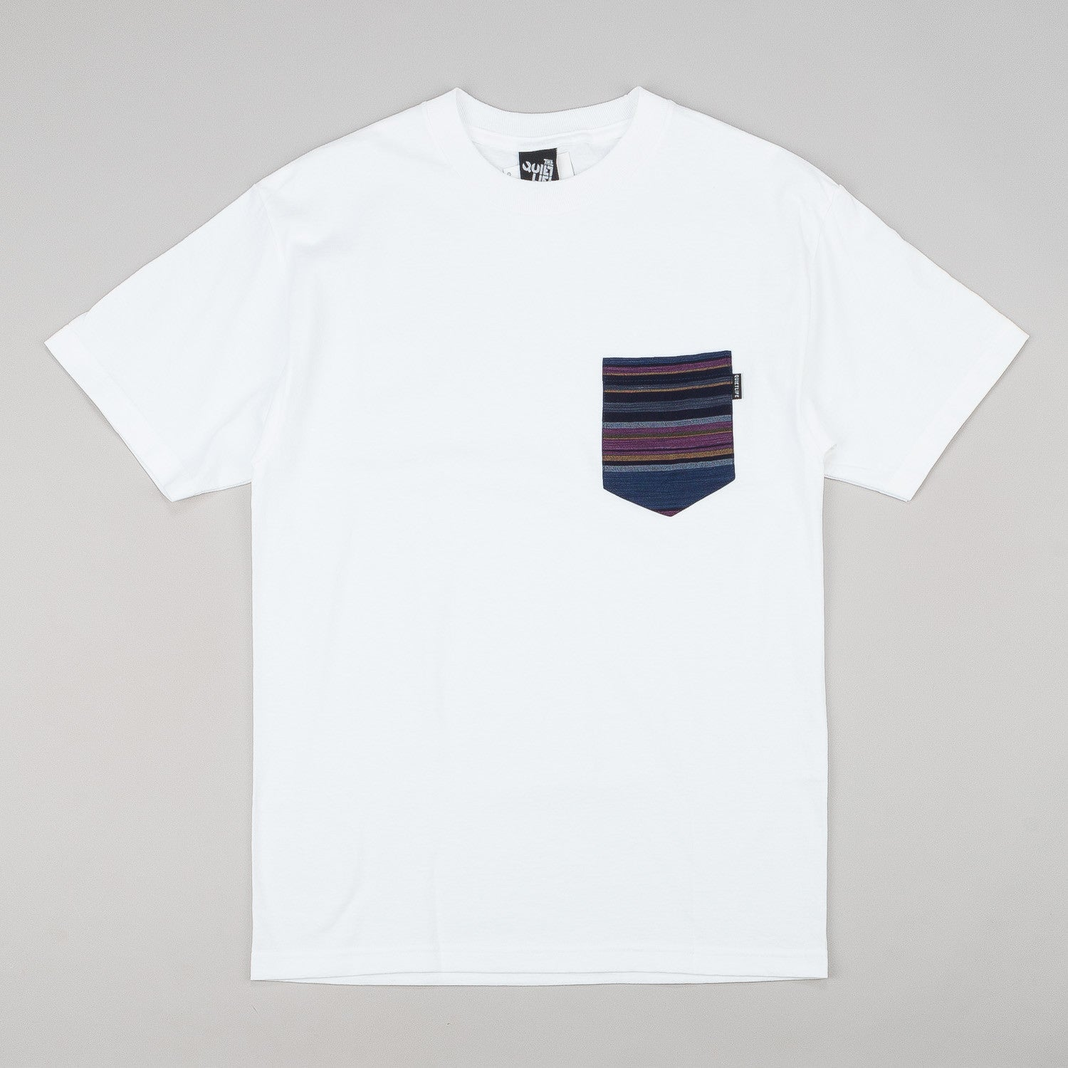 The Quiet Life Flax Linen Pocket T-Shirt - White