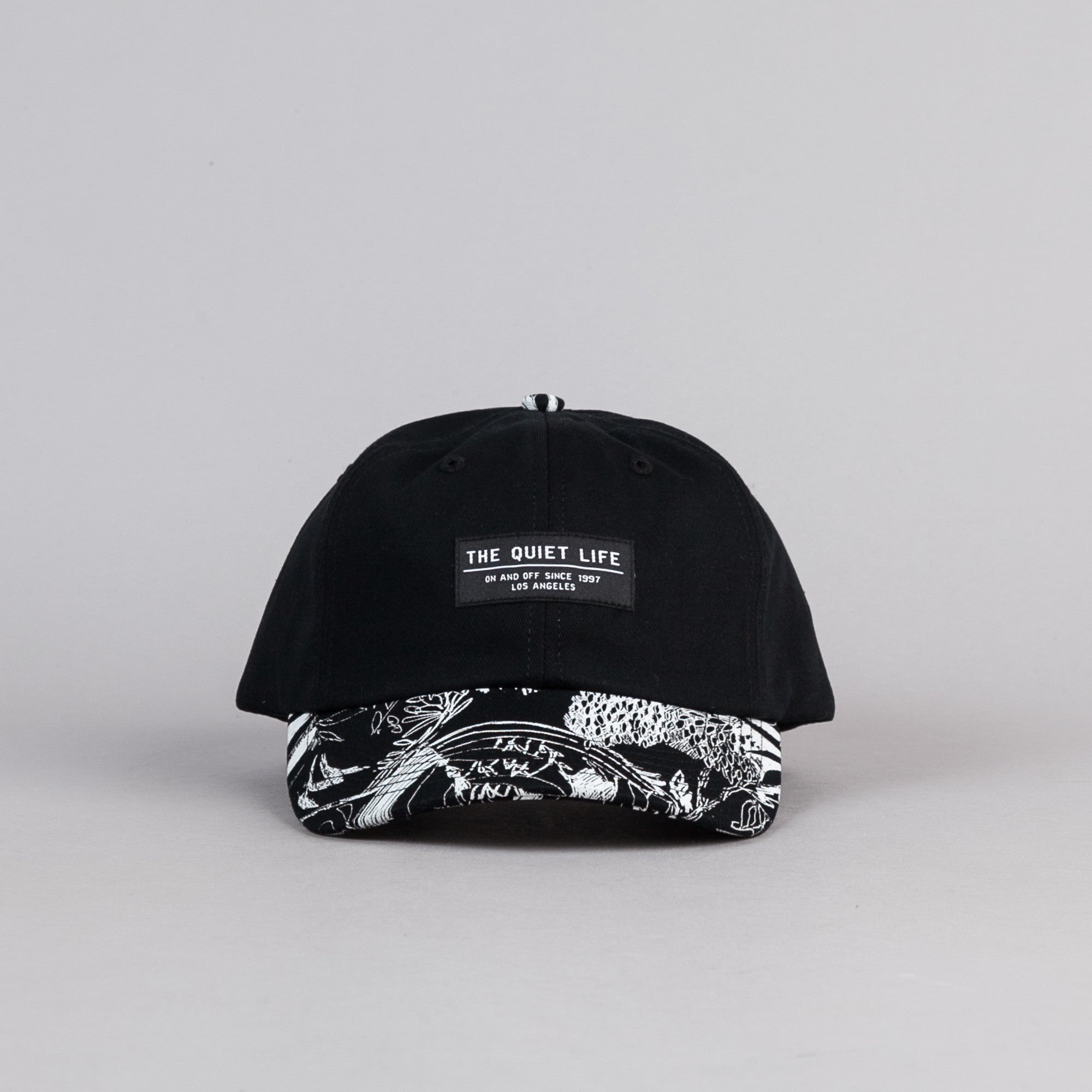The Quiet Life Flora Polo Cap - Black