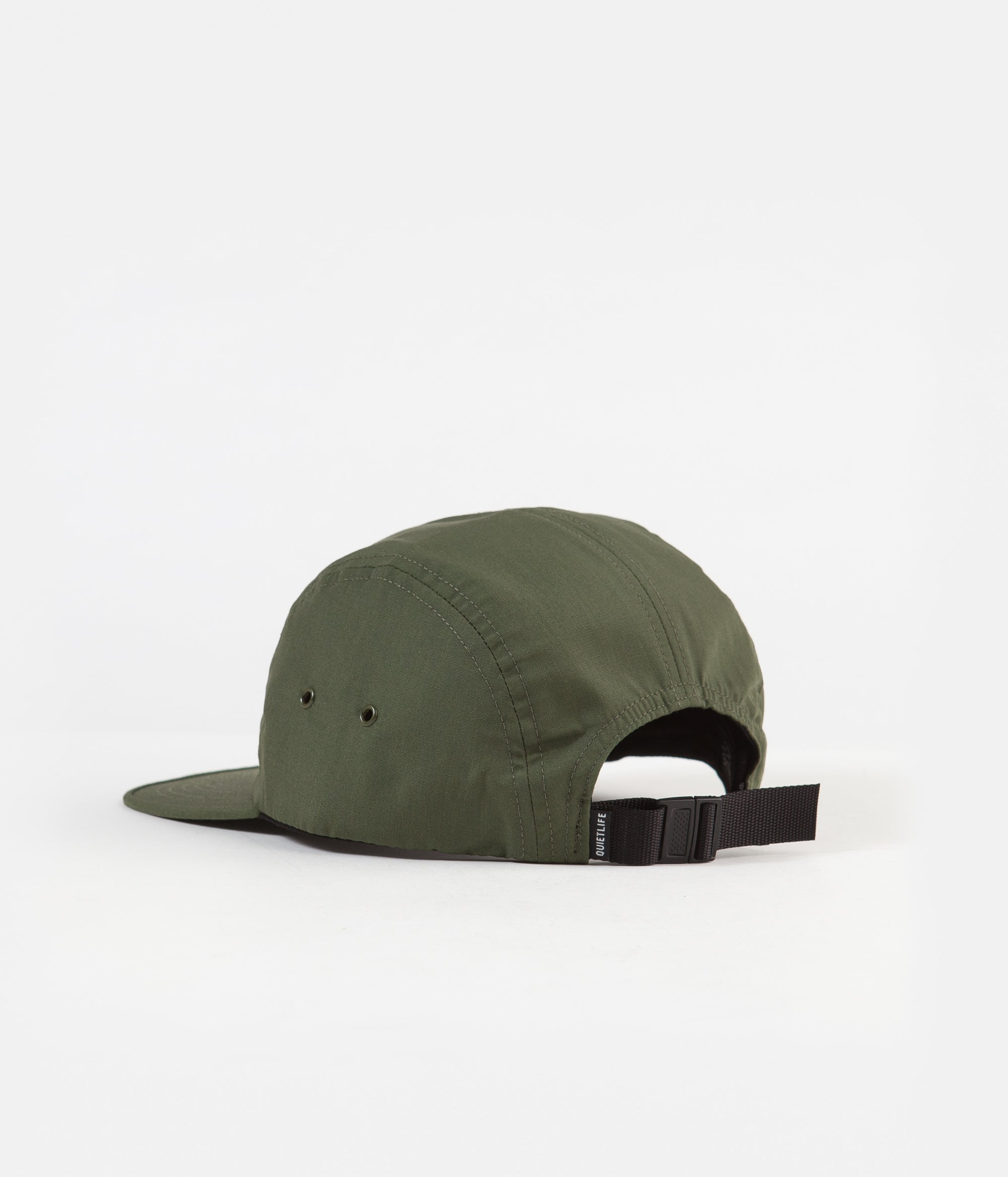 The Quiet Life Foundation 5 Panel Camper Cap - Army