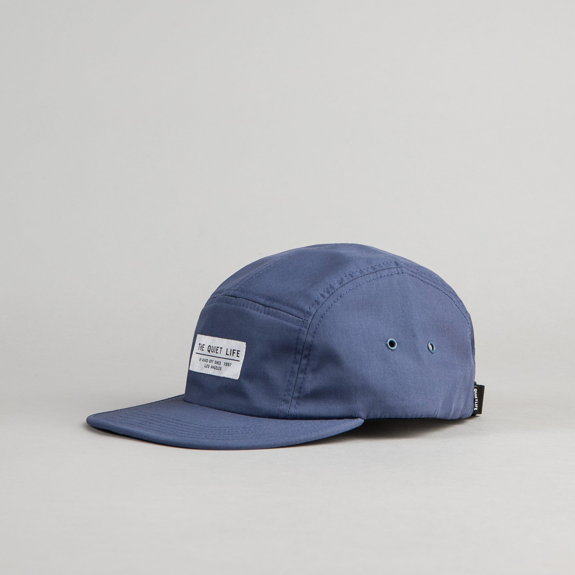 The Quiet Life Foundation 5 Panel Cap - Ocean Blue