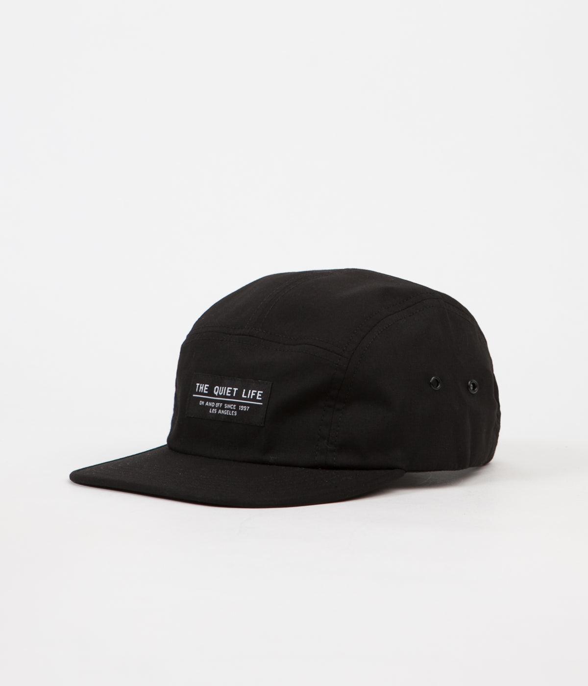 402f5c56e4bc5 The Quiet Life Foundation 5 Panel Cap - Black