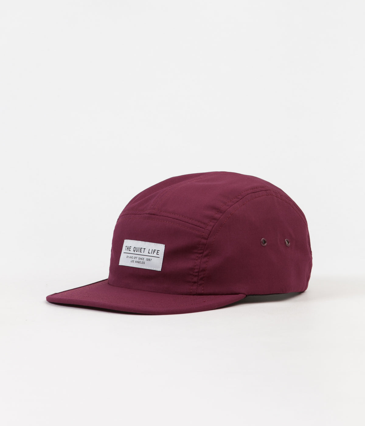 The Quiet Life Foundation 5 Panel Cap - Maroon