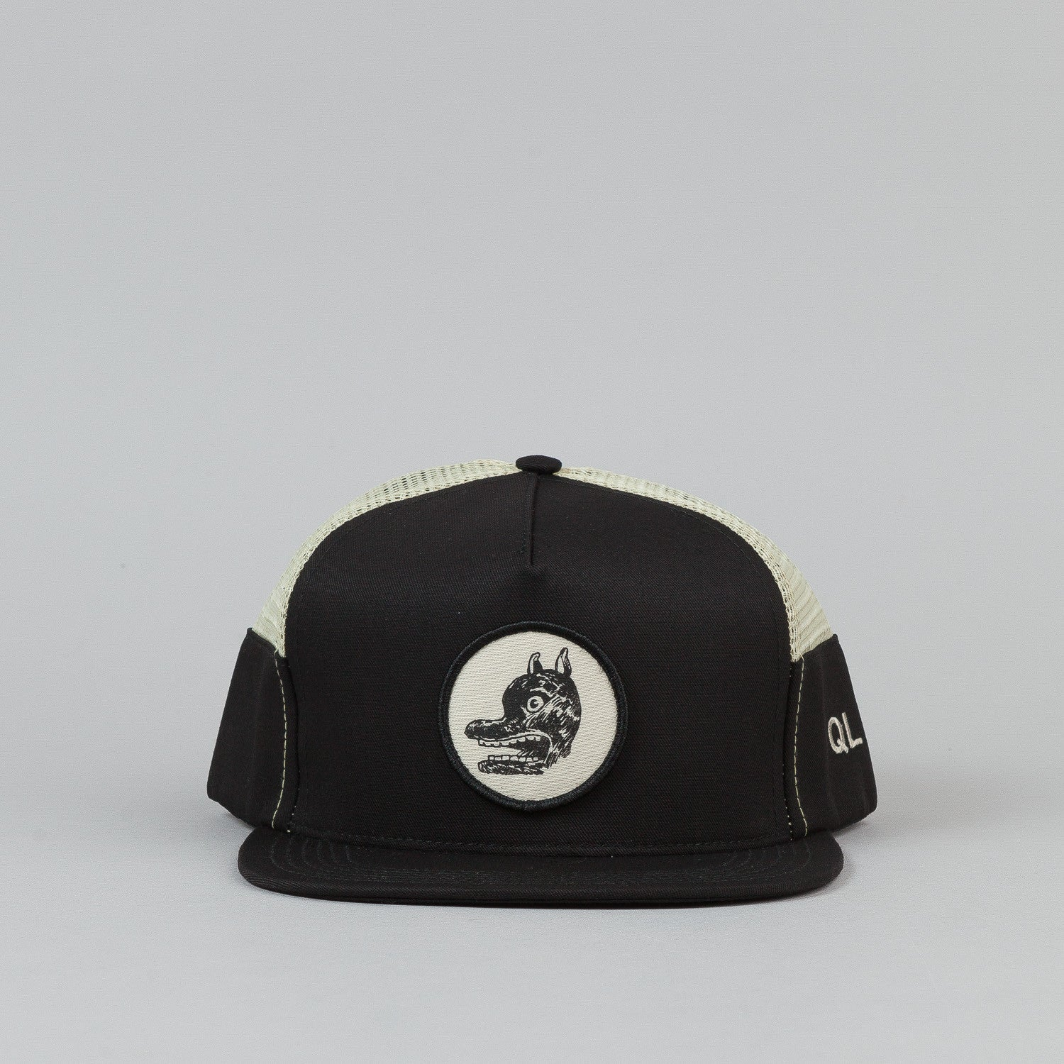 The Quiet Life Fudge Dog Trucker Vent Cap - Black