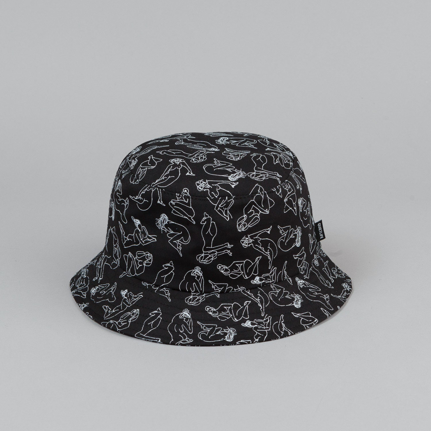 The Quiet Life Girls Bucket Hat - Black