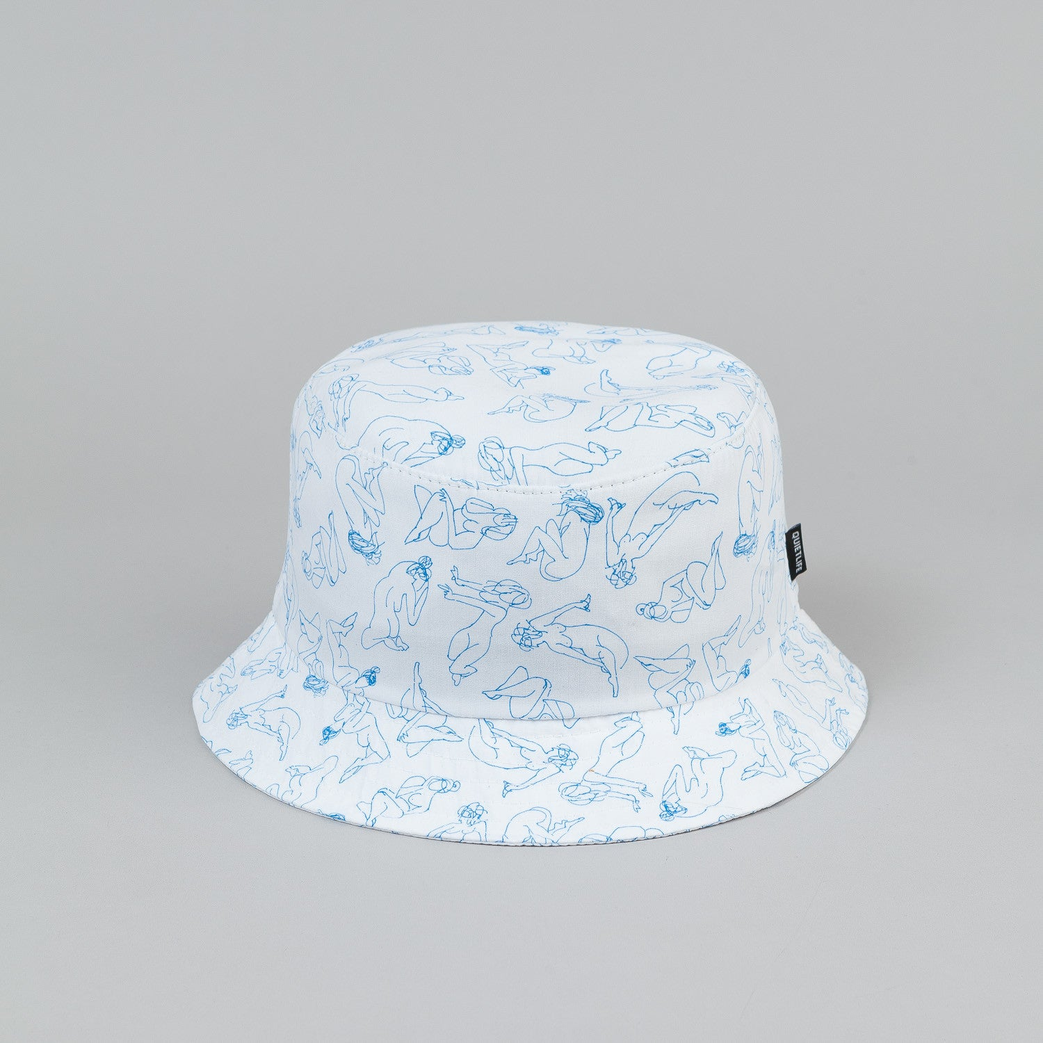 The Quiet Life Girls Bucket Hat - White