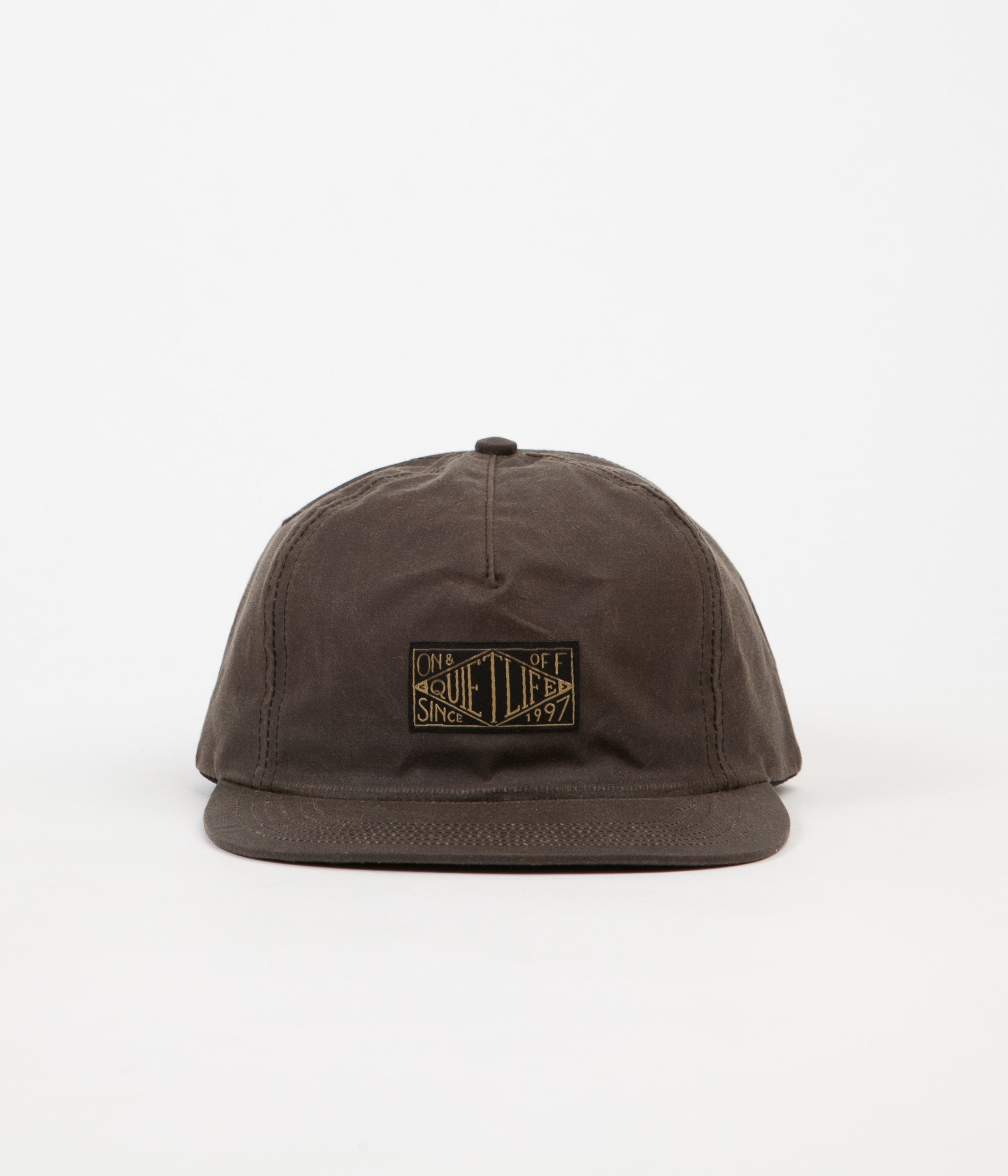 The Quiet Life Gold Label Snapback Cap - Oak
