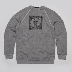 The Quiet Life Happiness Sweatshirt Heather Grey