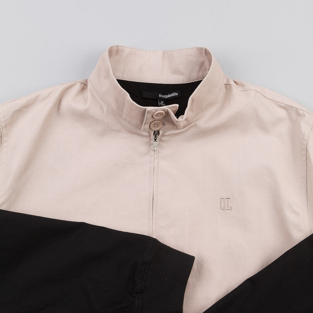 The Quiet Life Harrington Coach Jacket Tan / Black