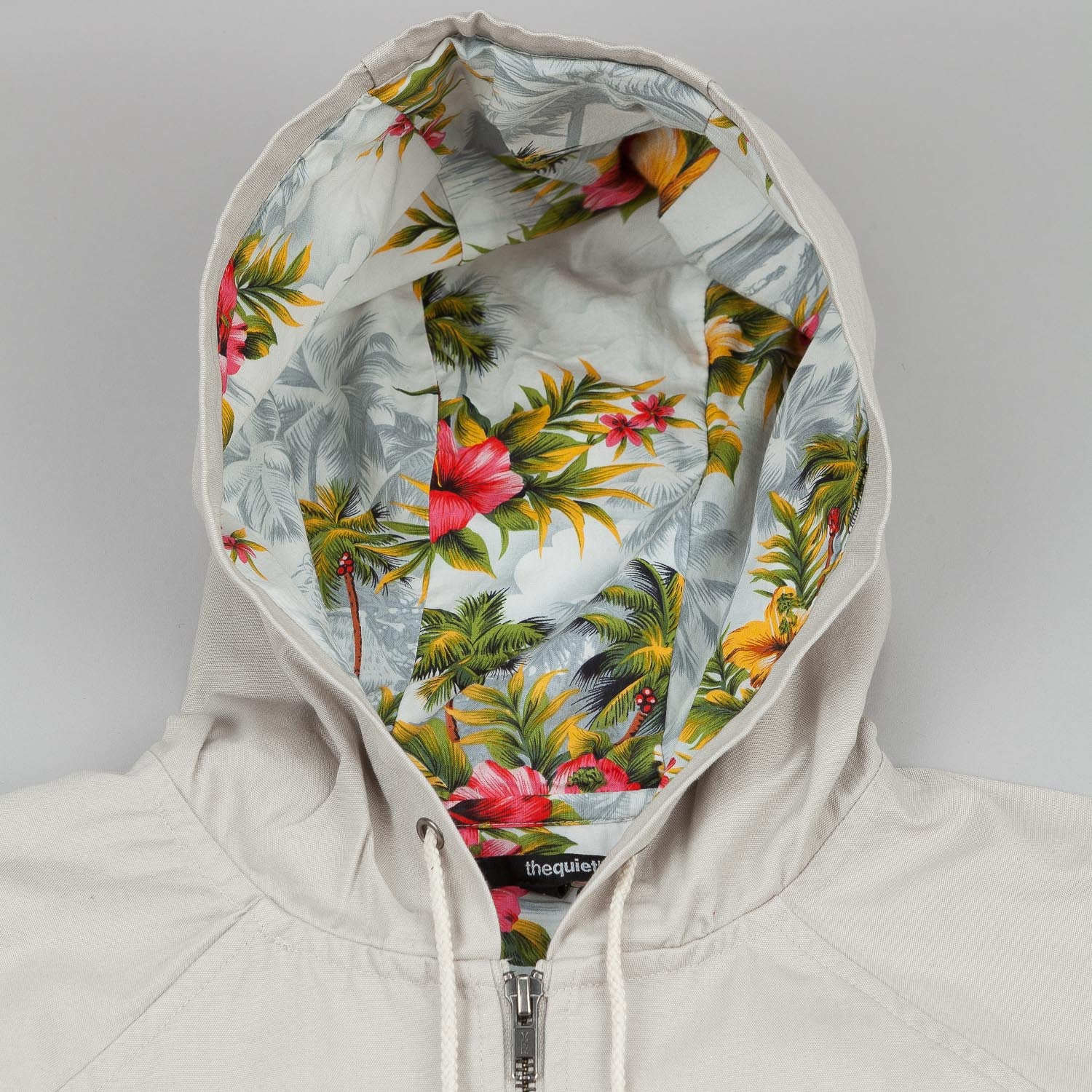 The Quiet Life Hawaiian Canvas Jacket - Stone