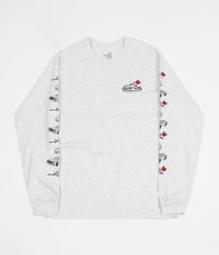 The Quiet Life Heavy Slime Long Sleeve T-Shirt - Ash