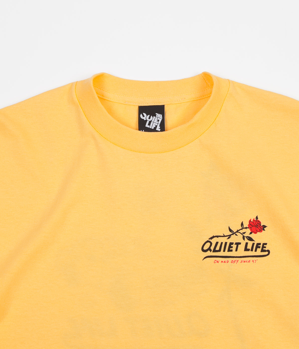 The Quiet Life Heavy Slime T-Shirt - Squash