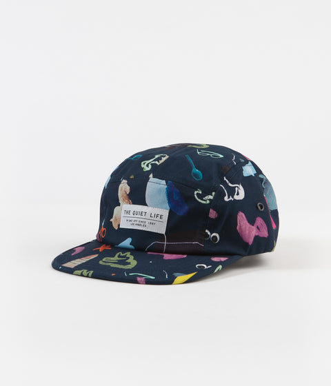 The Quiet Life Hoeckel 5 Panel Cap - Navy