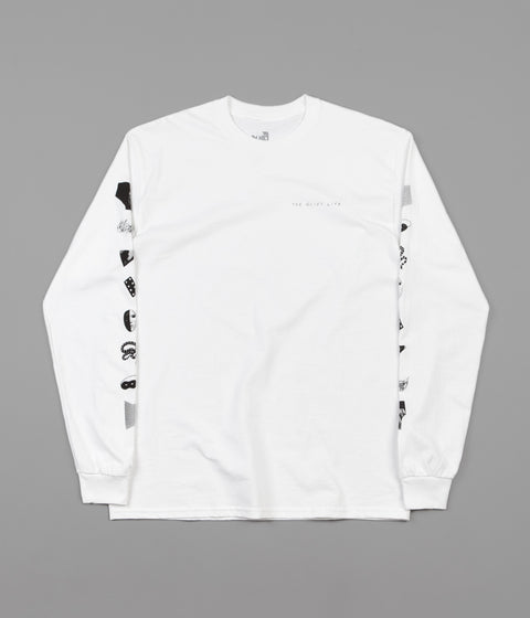 The Quiet Life Hoeckel Long Sleeve T-Shirt - White