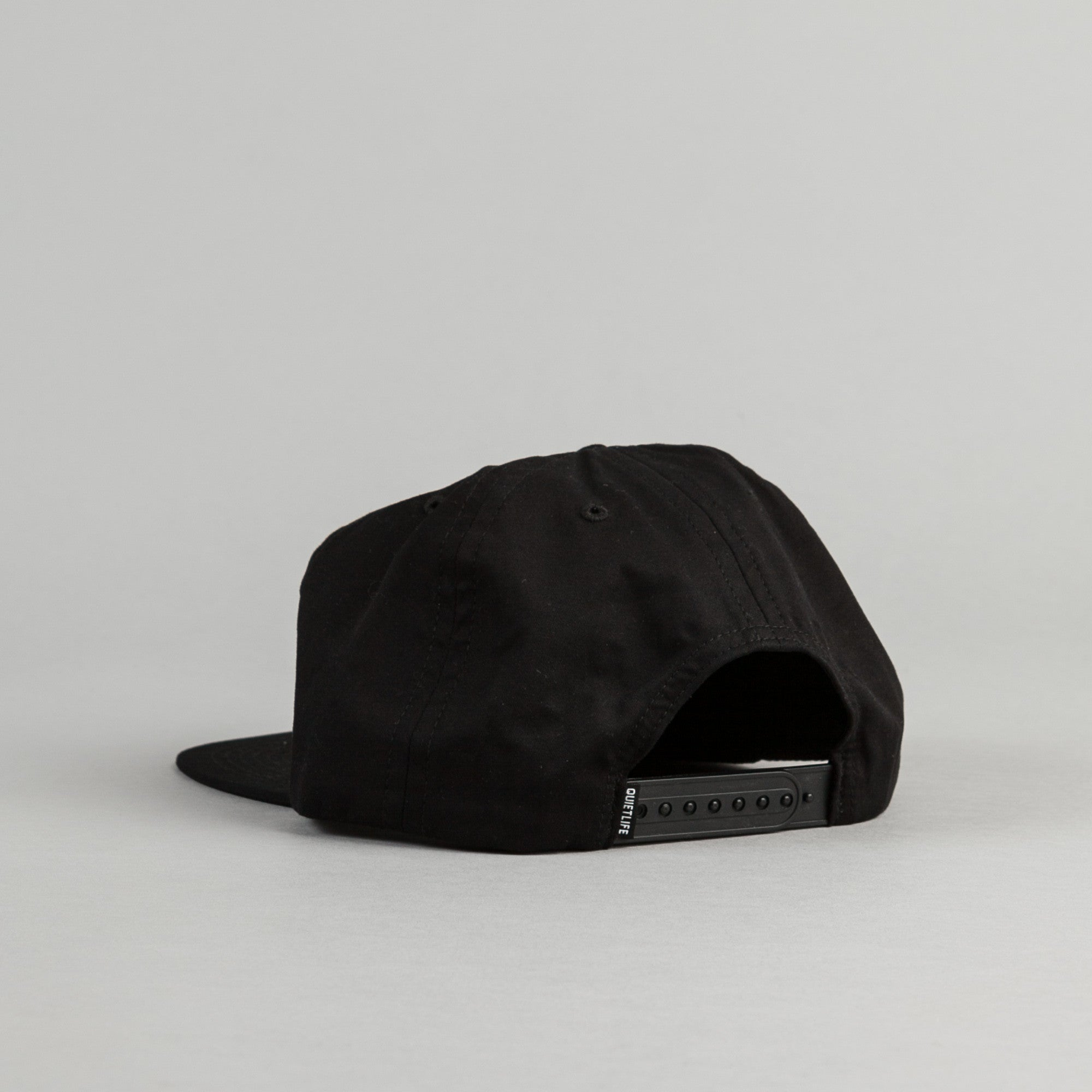 The Quiet Life Hoops Snapback Cap - Black