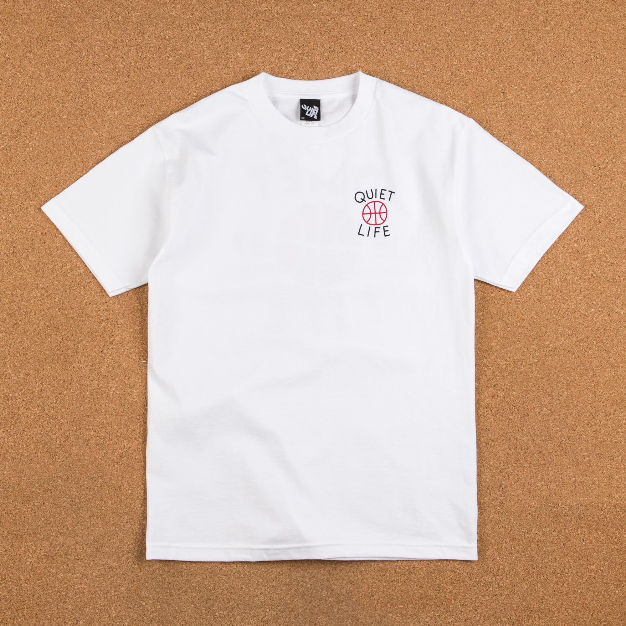 The Quiet Life Hoops T-Shirt - White