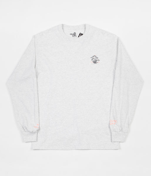 The Quiet Life House of Quiet Long Sleeve T-Shirt - Ash Heather