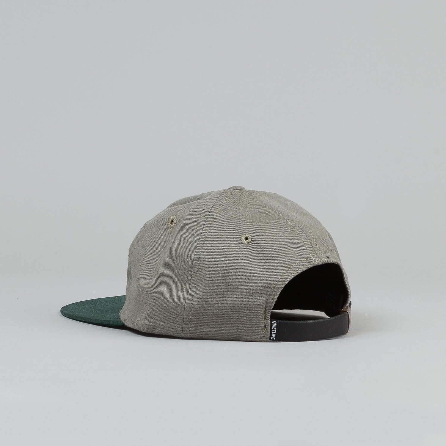 The Quiet Life Hudson Polo Cap - Stone Crown