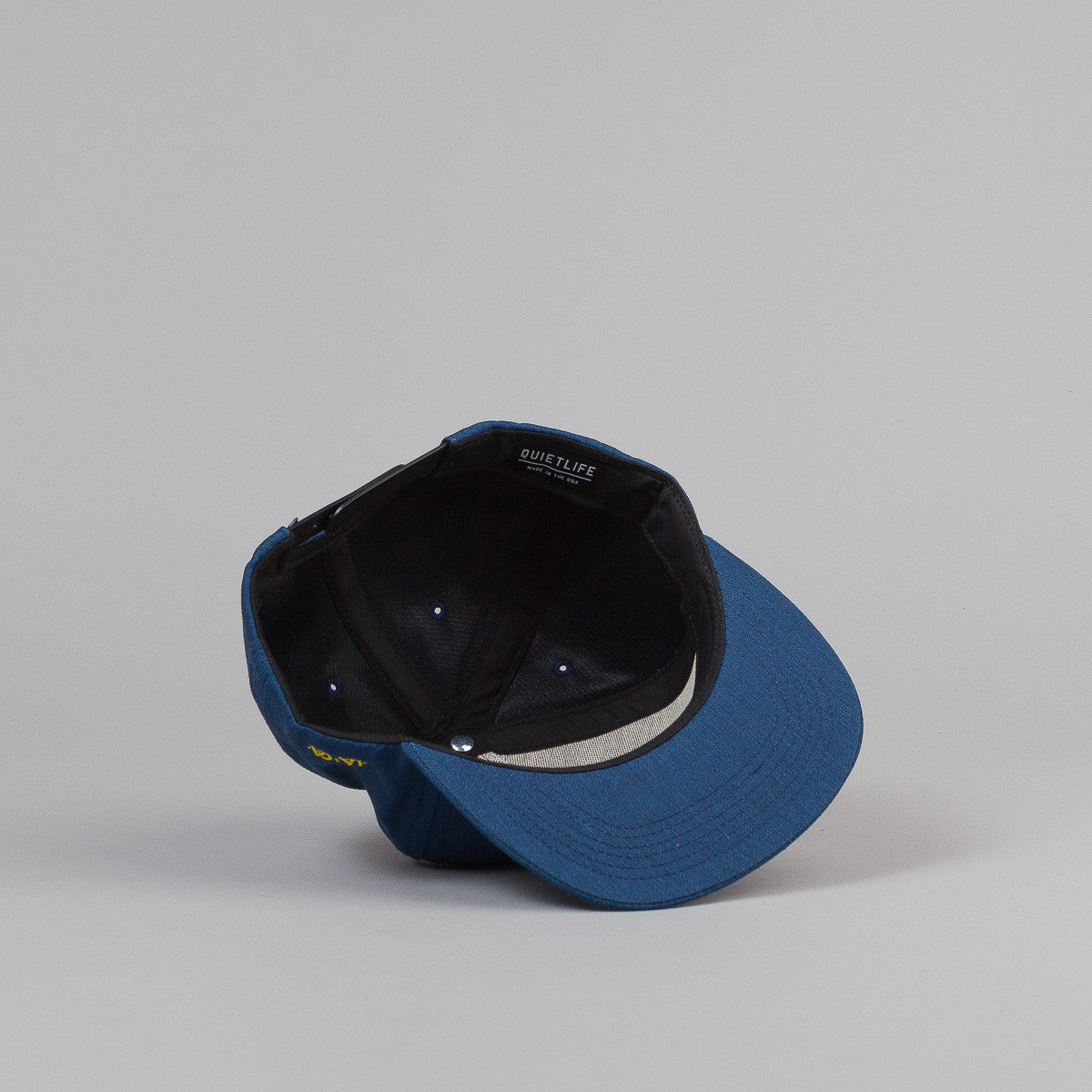 The Quiet Life Hudson Snapback Cap - Blue Heather
