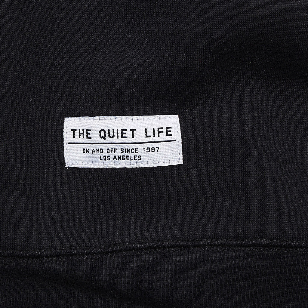 The Quiet Life Ikat Professor Sweatshirt Black