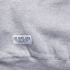 The Quiet Life Ikat Professor Sweatshirt Heather Grey
