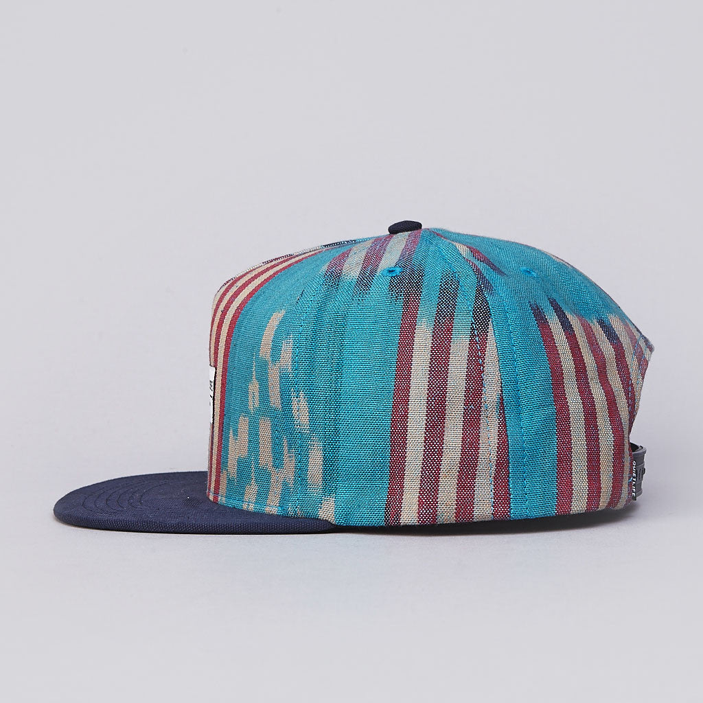 The Quiet Life Ikat Snapback Cap Blue
