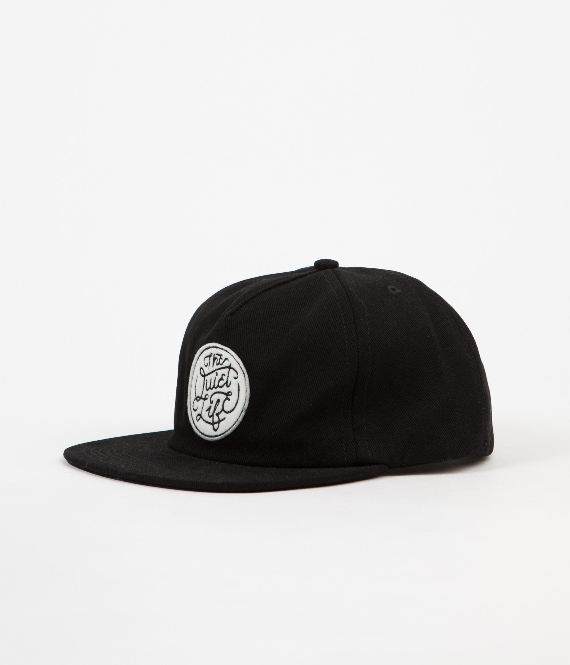 The Quiet Life Inning Snapback Cap - Black