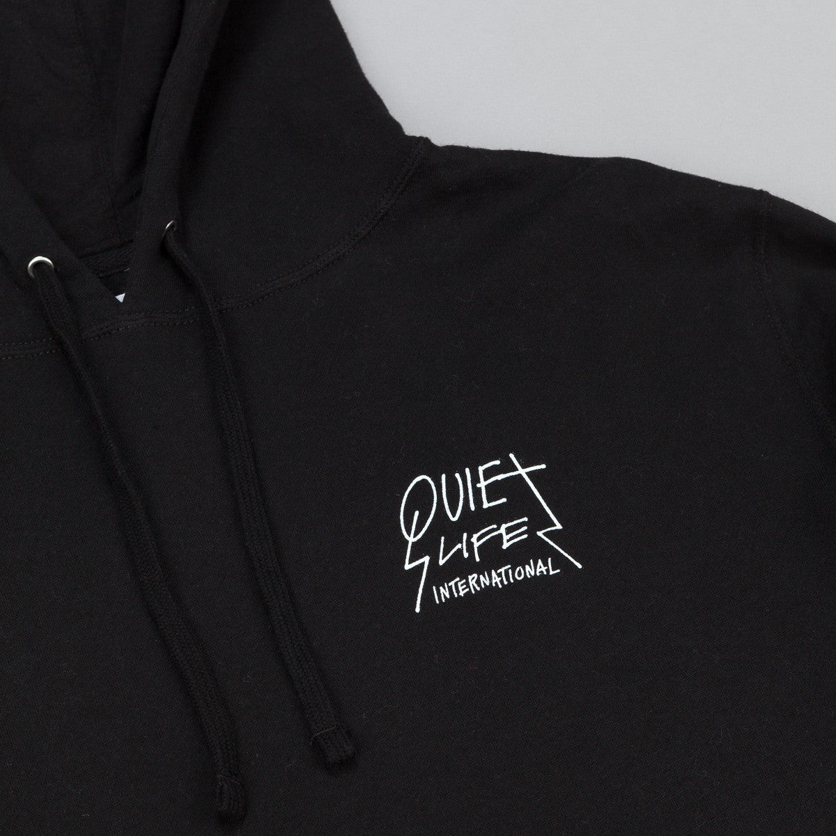 The Quiet Life International Hooded Sweatshirt - Black