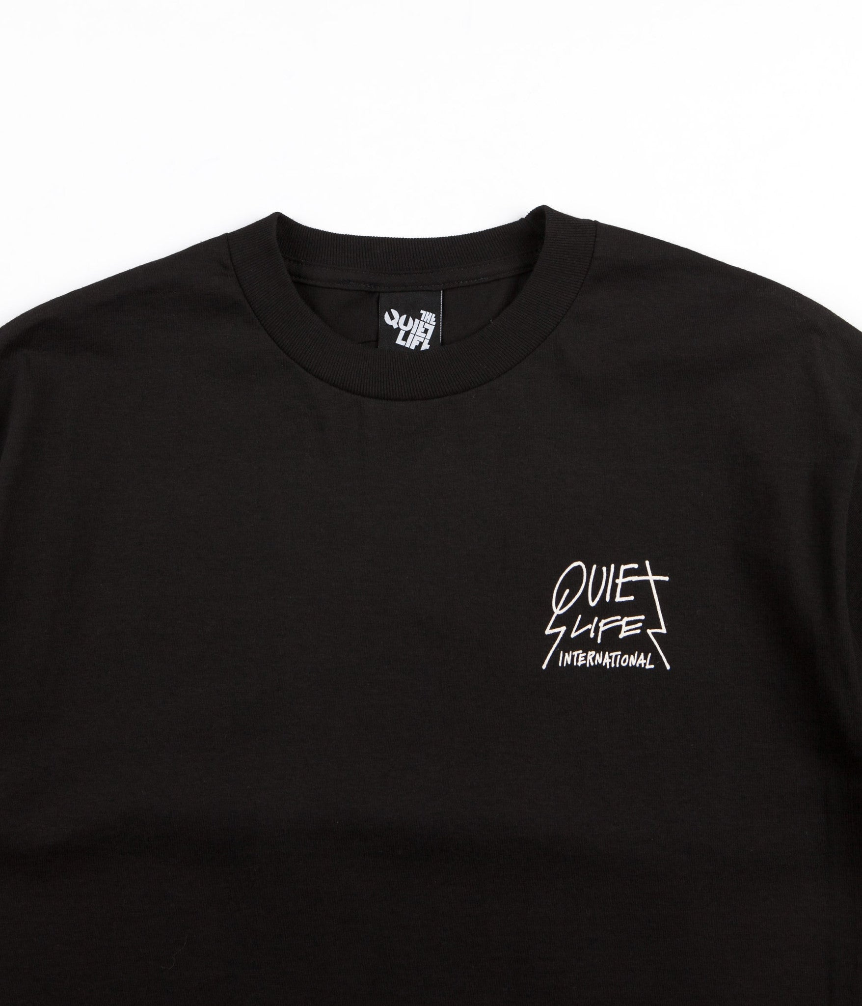 The Quiet Life International T-Shirt - Black
