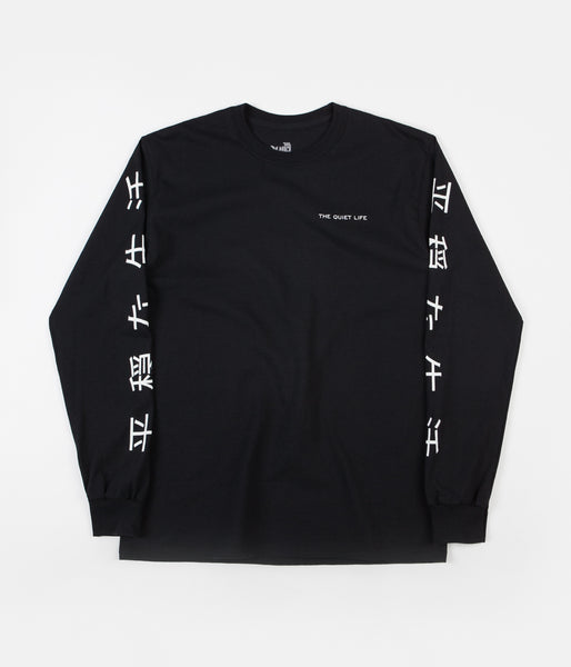 The Quiet Life Japan Long Sleeve T-Shirt - Black