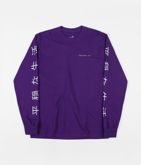 The Quiet Life Japan Long Sleeve T-Shirt - Purple