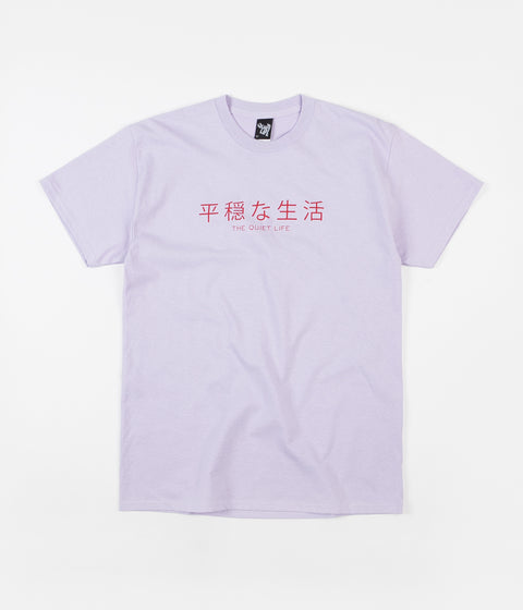 The Quiet Life Japan T-Shirt - Lilac