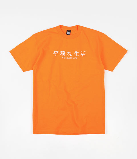 The Quiet Life Japan T-Shirt - Orange
