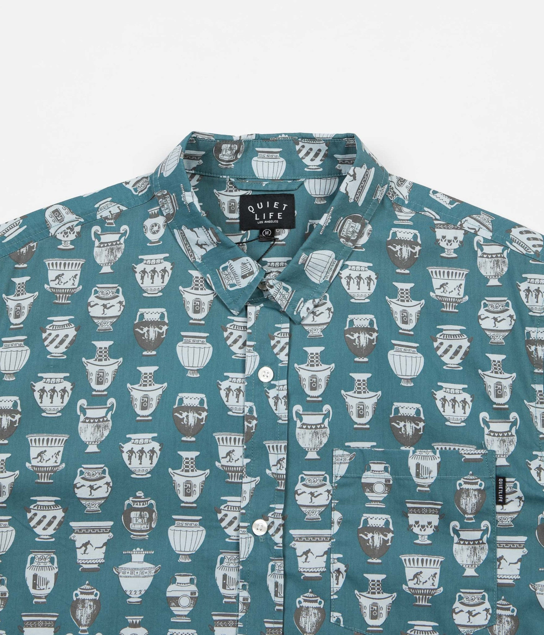 The Quiet Life Jones Button Down Shirt - Blue