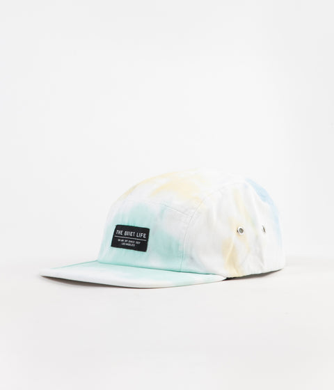 The Quiet Life Jose 5-Panel Camper Cap - Tie Dye