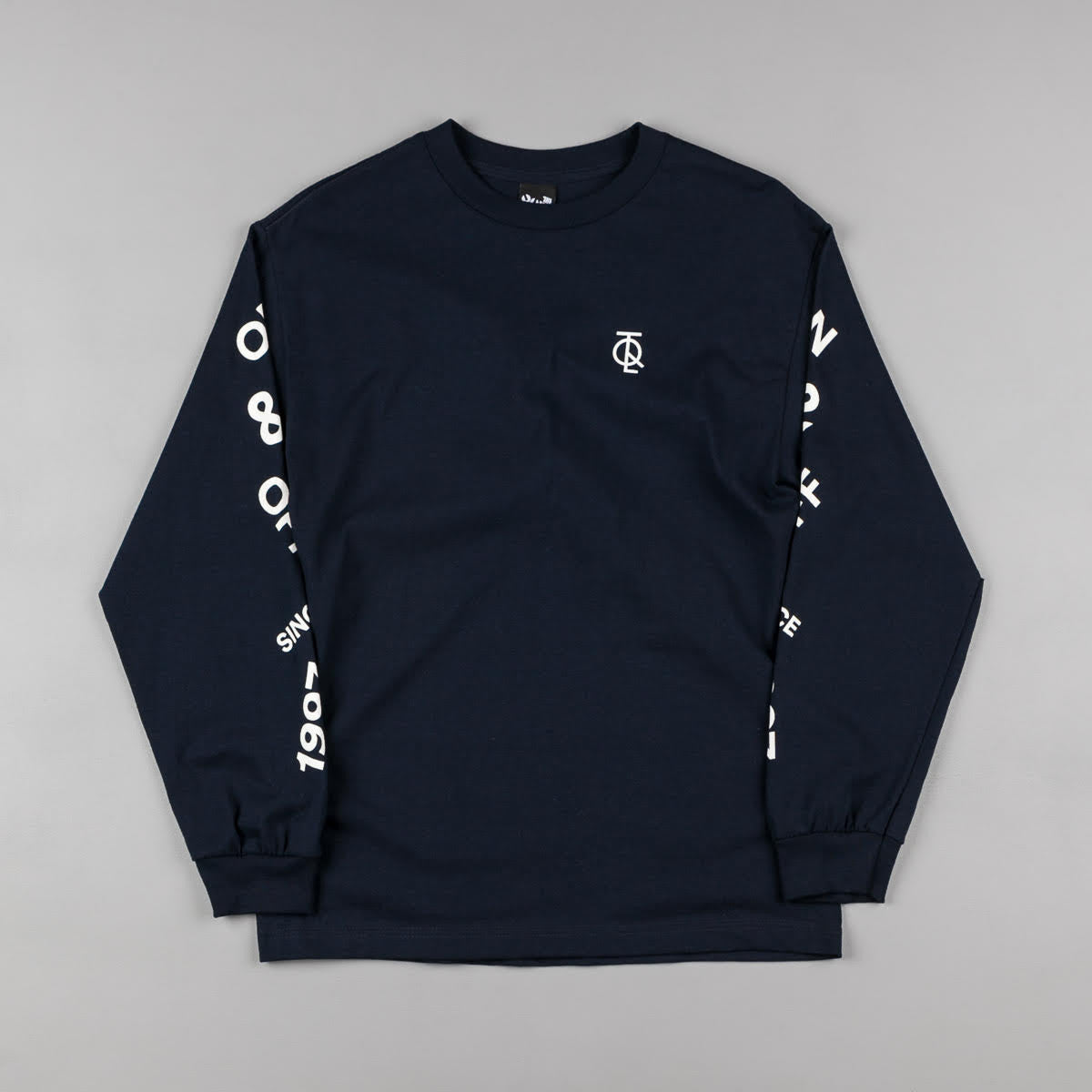 The Quiet Life Jump Long Sleeve T-Shirt - Navy
